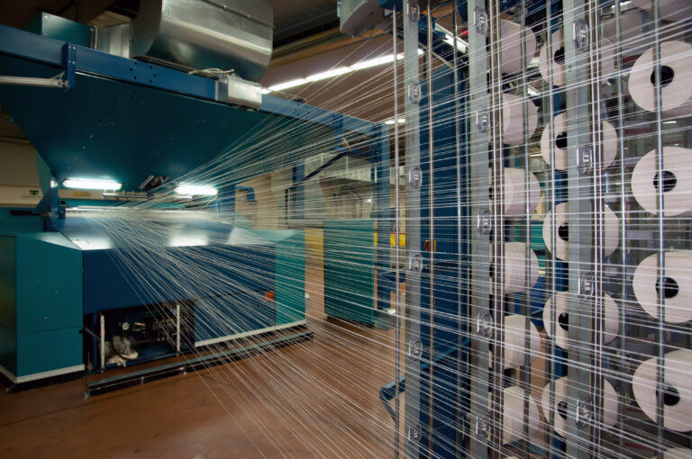 Great Italian textile industry, fully automated, for the production of tissue denim (for Jeans). This factory has the following processing departments: spinning, dying, weaving, finishing, quality control, warping and warehouse.
